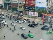 Calles de Hanoi Fotografía de archivo