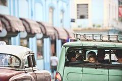 Calles de Havanna Fotos de archivo libres de regalías