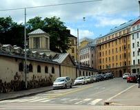 Calles de Helsinki Imagen de archivo libre de regalías
