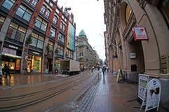 Calles de Helsinki, Finlandia foto de archivo libre de regalías