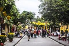 Calles de Hoi An Fotografía de archivo