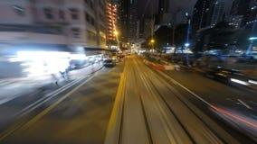 Calles de Hong Kong almacen de video