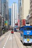 Calles de Hong-Kong fotografía de archivo libre de regalías