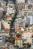 Calles de Kavala Fotografía de archivo