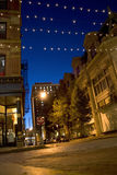Calles de la ciudad de Providence Imagenes de archivo