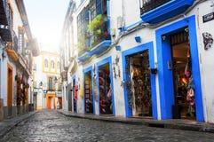 Calles de la ciudad vieja Córdoba Fotografía de archivo