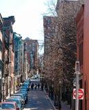 Calles de la colina de faro Foto de archivo