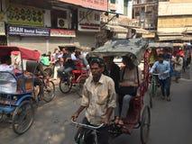 Calles de la India Imágenes de archivo libres de regalías
