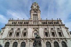 Calles de las opiniones de Oporto fotografía de archivo libre de regalías