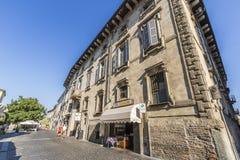 Calles de Lodi, Italia fotos de archivo libres de regalías