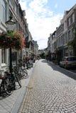 Calles de Maastricht Foto de archivo