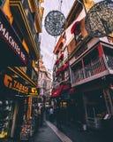 Calles de Majorca Fotos de archivo libres de regalías