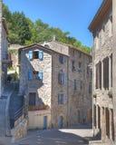 Calles de Malevall Francia Fotos de archivo libres de regalías