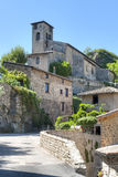 Calles de Malevall Francia Fotografía de archivo