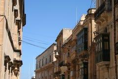 Calles de Malta Imagen de archivo libre de regalías