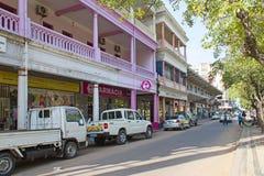 Calles de Maputo Fotografía de archivo libre de regalías