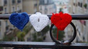 Calles de Montmartre Fotografía de archivo libre de regalías