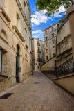 Calles de Montpellier, Francia Imagen de archivo