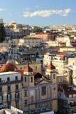 Calles de Nápoles Fotos de archivo libres de regalías
