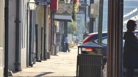 Calles de New Orleans 4k almacen de metraje de vídeo