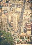 Calles de Nueva York Imagen de archivo libre de regalías