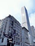 Calles de NYC Imagen de archivo libre de regalías