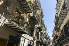 Calles de Palermo Imágenes de archivo libres de regalías