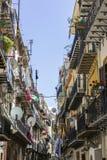 Calles de Palermo Fotos de archivo