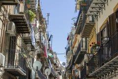 Calles de Palermo Foto de archivo libre de regalías