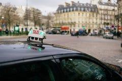 Calles de París Fotos de archivo libres de regalías