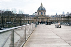 Calles de París Foto de archivo
