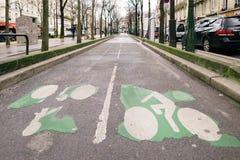 Calles de París Imagenes de archivo