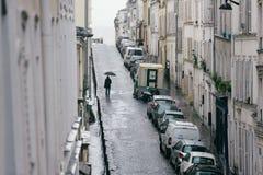 Calles de París Imágenes de archivo libres de regalías