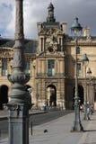 Calles de París Foto de archivo libre de regalías