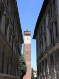 Calles de Pavía Imagen de archivo