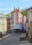 Calles de piedra de la ciudad vieja fotografía de archivo libre de regalías