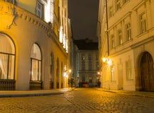 Calles de Praga Fotos de archivo libres de regalías