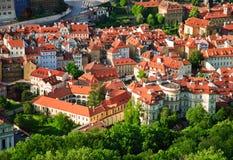Calles de Praga fotografía de archivo
