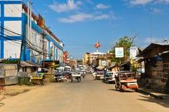 Calles de Puerto Princesa Imagen de archivo