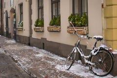 Calles de Riga Fotografía de archivo