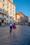 Calles de Roma Imagen de archivo libre de regalías