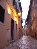 Calles de Rovinj Fotos de archivo