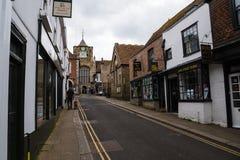 Calles de Rye foto de archivo libre de regalías