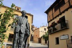 Calles de Segovia Imagenes de archivo