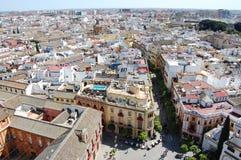 Calles de Sevilla Fotos de archivo libres de regalías