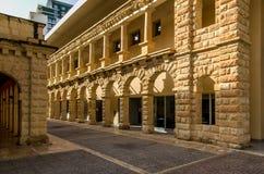 Calles de Sliema, Malta Imagen de archivo libre de regalías