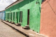 Calles de Trinidad, Cuba Imagenes de archivo