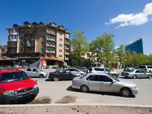 Calles de Ulaanbaatar, Mongolia Fotos de archivo libres de regalías