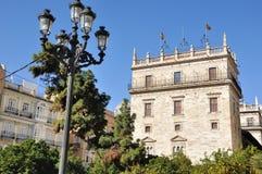 Calles de Valencia Fotografía de archivo libre de regalías
