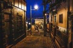 Calles de ValparaÃso Fotos de archivo